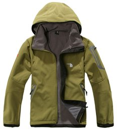 Discount men flower clothes - The North Men's Jacket Winter Fleece Windbreaker Face Hooded Coats wind Stopper Hoodie Jackets Designer Plus Size C