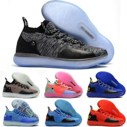 Discount basketball shoes kids kd - New Boys Kids Kevin Durant KD 11 11S Multi-Color KD11 XI Trainers Zoom Youth Girls Women Basketball Shoes X Elite Mid Sp