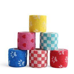 $enCountryForm.capitalKeyWord NZ - 5cm X 4.5m Kinesio Taping Sports Kinesiology Tape Self Adhesive Flexible Bandage Tapes Wrap Cohesive Bandage Mixed Colors