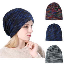 f91dd123c42 2018 Fashion Pro Men s Women Beanie Knit Ski Cap Unisex Hip-Hop Blank  Winter Warm Wool Hat