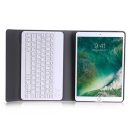 StyluS keyboard online shopping - Detachable Bluetooth ABS Keyboard with Magnet PU Leather Case Smart Cover for iPad pro Tablet Stylus A09