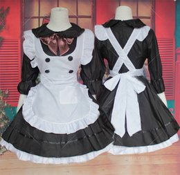 lolita dresses for cosplay NZ - women sweet lolita maid costumes japanese cute cosplay maid uniform dresses for girl