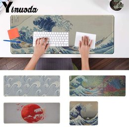$enCountryForm.capitalKeyWord NZ - Yinuoda High Quality Japanese wave Art High Speed New Mousepad Size for 180*220 200*250 250*290 300*900 and 400*900*2mm