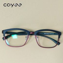 3318e4d5f2d4 Discount rx glasses frames - Coyee Retro Eyeglass frames Optic Clear Eyewear  Acetate RX Unisex Youth
