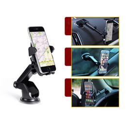 AdjustAble windshield stAnd online shopping - Universal Mobile Car Phone Holder Degree Adjustable Window Windshield Dashboard Holder Stand For All Cellphone GPS Holders