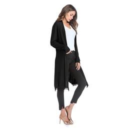$enCountryForm.capitalKeyWord UK - 2018 NEW Women Fashion Cotton Top Thin Blouse Long Sleeve Summer Cardigan Sweater Coat Big Size Flounce Plus Size