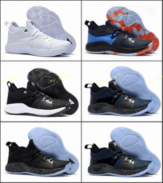 2a06c377593 2018 High quality Paul George 2 PG II Basketball Shoes for Cheap top PG2 2S  Starry Blue Orange All White Black Sports Sneakers Size 40-46