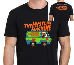 $enCountryForm.capitalKeyWord Australia - Printed Shirts Online Regular Scooby Doo Mystery Machine Men's T-Shirt Crew Neck Short-Sleeve Tee Shirt For Men