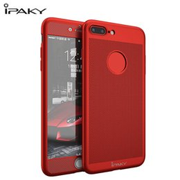 Discount breathable iphone case - For Apple Iphone 6 6s Plus Case Original Ipaky 360 Degree Full Body Coverage Fitted Cases Breathable Cover For Iphone 7