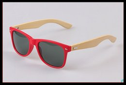 Wholesale factory direct sales hand made bamboo mirror leg fashion sunglasses sunglasses a manufacturer