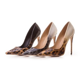 $enCountryForm.capitalKeyWord Canada - European and American sexy leopard mixed color high heel pointed shoes nightclub Princess shoes 2018 new shallow pumps