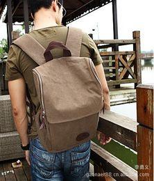 $enCountryForm.capitalKeyWord Canada - Large capacity sports travel backpacks fashion shoulder handbag retro style canvas men backpack college bags hiking bag