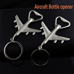 $enCountryForm.capitalKeyWord UK - High Grade Helicopter Airliner Combat Aircraft Airplane Keychain Beer Bottle Opener Keyring Bar Tool Party Favor Wedding Gift Free DHL H843R