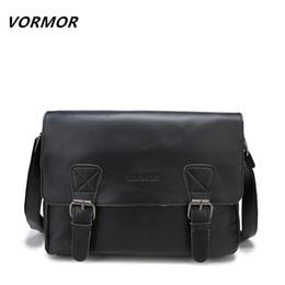 $enCountryForm.capitalKeyWord Canada - VORMOR New Arrival Men's Shoulder Bag High Quality Handbags Satchel Leather Messenger Bags For Men