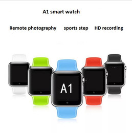 $enCountryForm.capitalKeyWord Australia - A1 Bluetooth smart watch for apple watch android smartwatch for iPhone Samsung smart phone with camera dial call answer Passometer