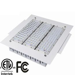 Ingrosso Il baldacchino del LED protetto contro le esplosioni accende la luce della baia di 100W 120W 150W 200W messo montato per la luce della stazione di GAS CA 90-277V una garanzia da 3 anni