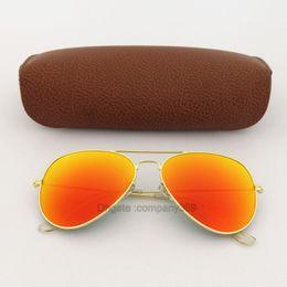 Best quality sunglasses for men online shopping - Best quality Orange Colorfull lens pilot Fashion Sunglasses For Men and Women Vassl Brand designer Vintage Sport Sun glasses With box