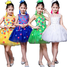 5fb4ce328e26 Girls Sequined Ballroom Latin Salsa Dance dress Competition Costumes dress  Kids Dancing dress Clothing Wear Party Stage Outifts Clothes