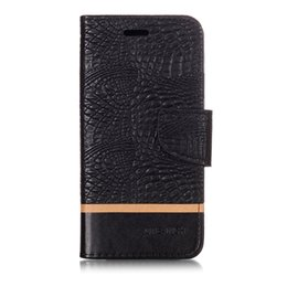 $enCountryForm.capitalKeyWord NZ - Splice Color wallet Case For iPhone X Xr Filp Cover Crocodile pattern PU Leather Mobile Phone Bags Latest fashion For iPhone XS Xs Max