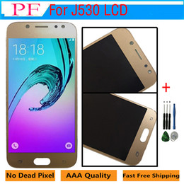 Price tools online shopping - Factory Price For Samsung Galaxy J5 J530 LCD Display Screen For Samsung J530 J530F LCD Touch Digitizer Assembly Tool