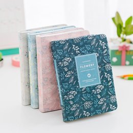 kawaii notebooks UK - Korean New 2018 Kawaii Vintage Flower Schedule Yearly Diary Weekly Monthly Daily Planner Organizer Notebook Kawaii WJ-XXWJ221-