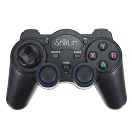 China New 2.4GHz Wireless Game Controller Gamepad Joystick For Android TV Box PC GPD XD New w  OTG Converter Computer Game Controllers cheap joystick for pc computer suppliers
