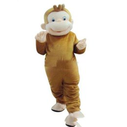 $enCountryForm.capitalKeyWord Canada - 2018 Hot sale Curious George Monkey Mascot Costume Fancy Birthday Party Dress Halloween Carnivals Costume