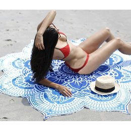 $enCountryForm.capitalKeyWord UK - Round Beach Towel Mandala Tapestries Cotton 24 Patterns Boho SPA Wraps Bikini Cover up Beachwear Bath Throw Shawl Rugs Tablecloths 5ft