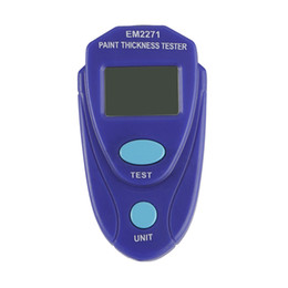 Cars Thickness Coating UK - Digital Mini Coating Thickness Gauge Car Paint Meter Paint tester Auto Coating Thickness Gauge EM2271