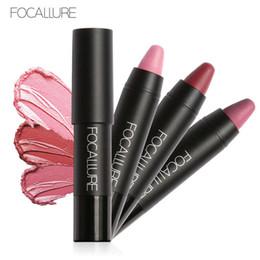 Lipstick pen makeup online shopping - Newest Focallure Matte Lipstick set Smooth Lip Stick Sexy Long lasting Waterproof Lipsticks Pen Makeup Cosmetic Matte Lipstick Set