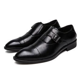 8673b886 zapatos de cuero de los hombres formales clásicos zapatos de vestir de lujo  de la marca de lujo italiana calzado de negocios de gran tamaño elegante  derby ...