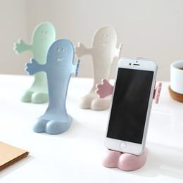 Titular Universal Telefone Celular Palha De Trigo Design Criativo Suporte Preguiçoso Para o iPhone iPad Todos Os Telefone Móvel Tablet PC