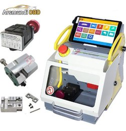 $enCountryForm.capitalKeyWord Australia - Top DHL 3 Clamps automatic key cutting machine SEC-E9 portable smart duplicate car key cutting machine SEC E9 Work Car Truck Motorcycle