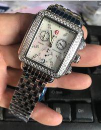 Mop diaMond online shopping - Michele Signature DECO Diamonds MOP Diamond Dial Watch Women s MWW06P000099