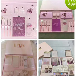 Discount kylie jenner christmas makeup kylie nudes Kylie Vacation Makeup Set Edition Collection i want it all kylie jenner holiday christmas big box