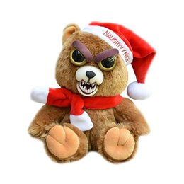 Funny Toy Stuffed Animals Canada - YNYNOO Change Face Feisty Pets Plush Toys With Funny Expression Stuffed Animal Doll For Kids Cute Prank toy Christmas Gift