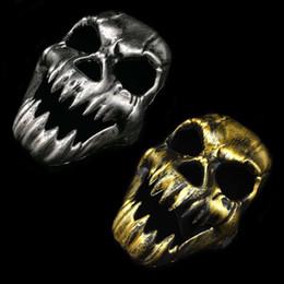 e106fa42e Skeleton clothing online shopping - Halloween Scary Skeleton Skull Face  Mask Game Halloween Veil Balaclava Ghost