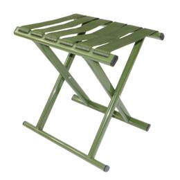 $enCountryForm.capitalKeyWord NZ - Military Green Stool Widen Nylon Belt Fishing Chair High Strength Carbon Steel Tube Folding Chairs Durable 10 5xr B