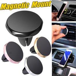 Alta qualidade mini suporte do carro magnético suporte de ventilação de ar com suporte de magnetismo forte suporte do telefone inteligente para iphone xs 8 galaxy s8