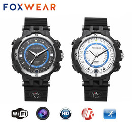 China FOXWEAR Pocket Mini Sport HD 1280*720 Video Recording 32GB ROM Smart Watch Support WIFI P2P IP Camera DVR Voice Recorder for Bicycle Car cheap hd sport camera wifi ip suppliers