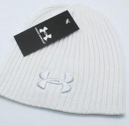 1f6d21d86dc Wholesale-2018 mens designer hats bonnet winter beanie knitted wool hat  plus velvet cap skullies Thicker mask Fringe beanies for men