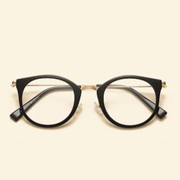 defbf8b84c5 2018 Cute Vintage Glasses Women Men Glasses Frame Round Eyeglasses Frame  Optical Glass Oculos Femininos Gafas Eyewear TR90