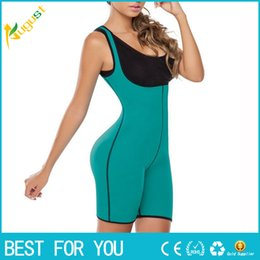 Corsets Suits NZ - 2018 Hot Both Sides Sport One Piece Body Shaper Body Suit Butt Lifter Gym Fitness Slimming Fitness Ultra Sweat Corset