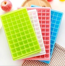 Wholesale 60 Grids Grids Ice Cube Molds Makers Food Grade Ice Cube Tray Easy Release DIY Fruit Ice Mold Home Bar Kitchen Accessories