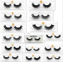 $enCountryForm.capitalKeyWord NZ - 15 styles 3D Mink Eyelashes Eye lash Extension Sexy False Eyelashes Natural Thick Fake Eye lashes Full Strip Mink Eye Lashes