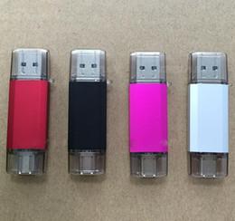 $enCountryForm.capitalKeyWord NZ - USB 3.0 OTG Dual Micro USB Flash Pen Thumb Drive Memory Stick for Phone PC 2gb 16gb (Color:black,gray,pink,red) u84