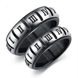 $enCountryForm.capitalKeyWord Canada - European And American Fashion Roman Numerals Titanium Steel Ring Tide Men Personality Ring Accessories Gift Support FBA Drop Shipping G871F