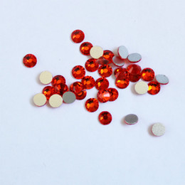 $enCountryForm.capitalKeyWord UK - SS3-SS34 Hyacinth Rhinestones Back Flat Round Nail Art Decorations And Stones Non Hotfix Rhinestones Crystals for DIY Glass
