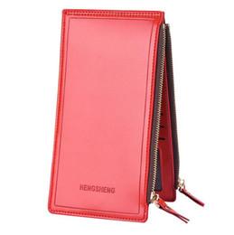 $enCountryForm.capitalKeyWord UK - Fashion ladies wallet 2018 hot business luxury wallet men and women models zipper wallet couple mobile phone bag