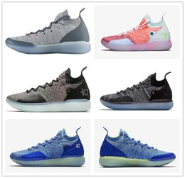 cb559e1d4ea1 Cheap Sale KD 11 EP Cool Grey Eybl Multicolor Still Mens Basketball Shoes  Top Kevin Durant 11s XI KD11 Sports Trainers Size 40-46